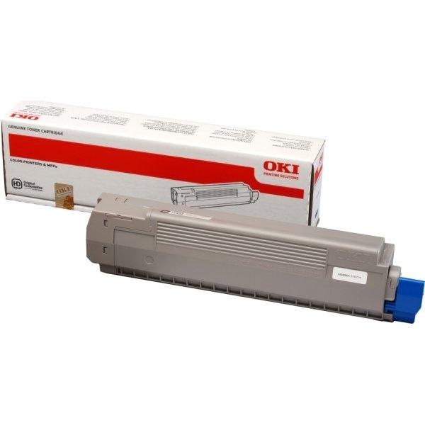 OKI 44643004 lasertoner, sort, 7000s