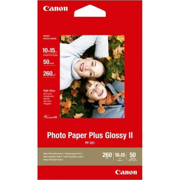 Canon PP-201 blank inkjet foto, 10x15cm/260g/50ark