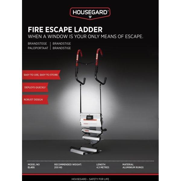 Housegard Brandstige 4,5 m