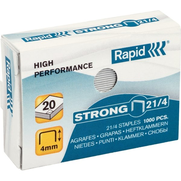 Rapid Strong 21/4 Hæfteklammer, 1000 stk.