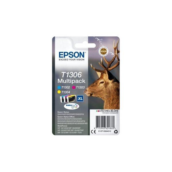Epson nr.T1306/C13T13064012 blækpatron, sampak