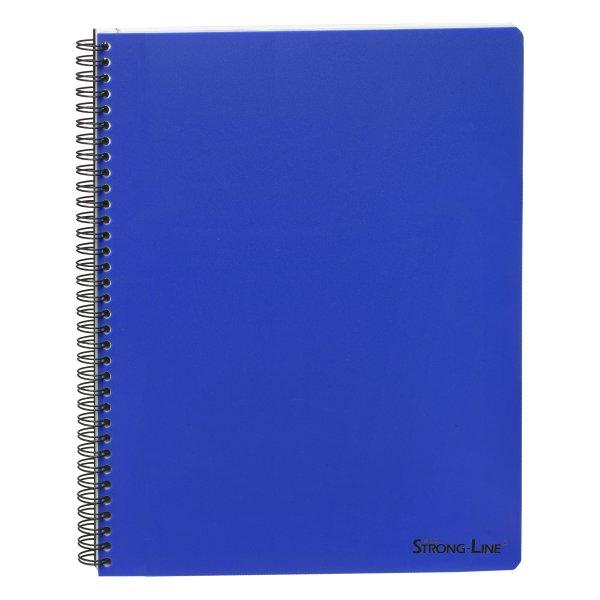Bantex Strong-Line kollegieblok A5, linjeret, blå