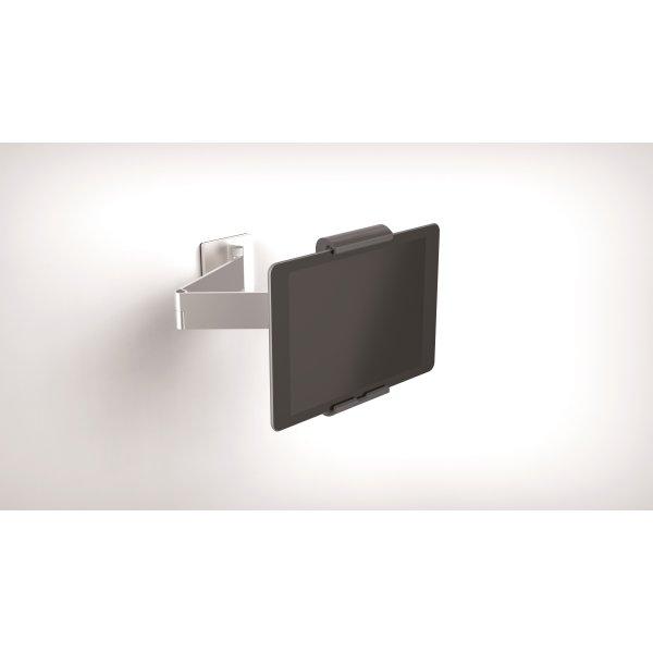 Durable fastmont. vægstander til iPad/tablet, alu