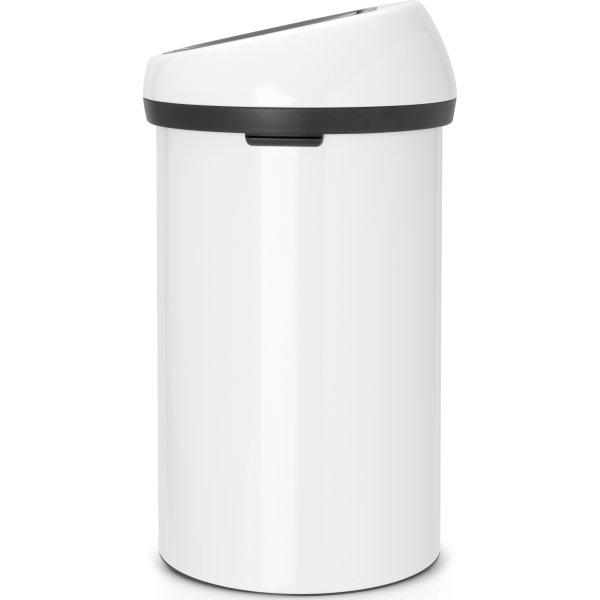 Brabantia Touch Bin 60 L, white