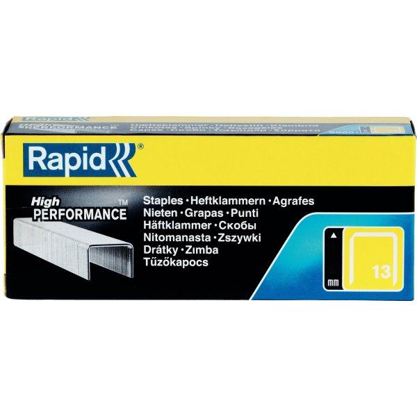 Rapid nr. 13/10 Hæfteklammer, 5000 stk.