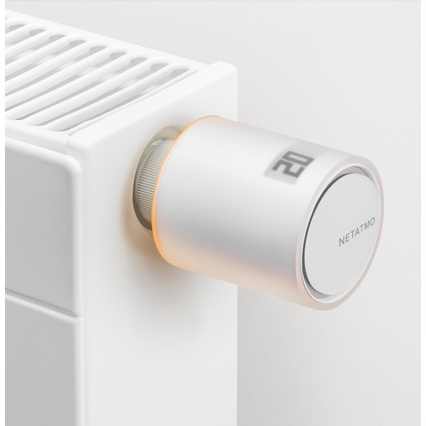 Netatmo SmartHome radiatortermostater, startpakke