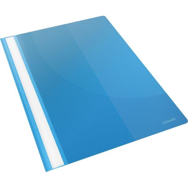 Esselte Vivida Tilbudsmappe A4, med lomme, blå