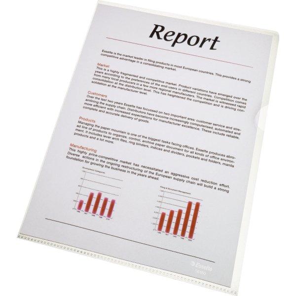 Esselte Copysafe chartek, A4, PP, 0,08mm, 100stk