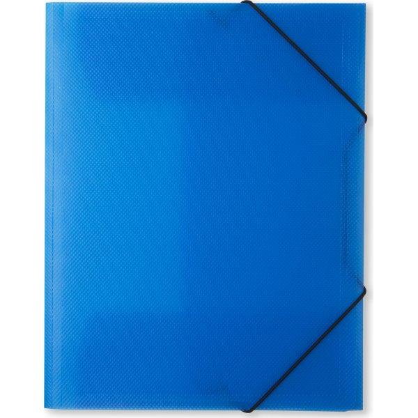 DocuSmart elastikmappe A4, PP, klarblå