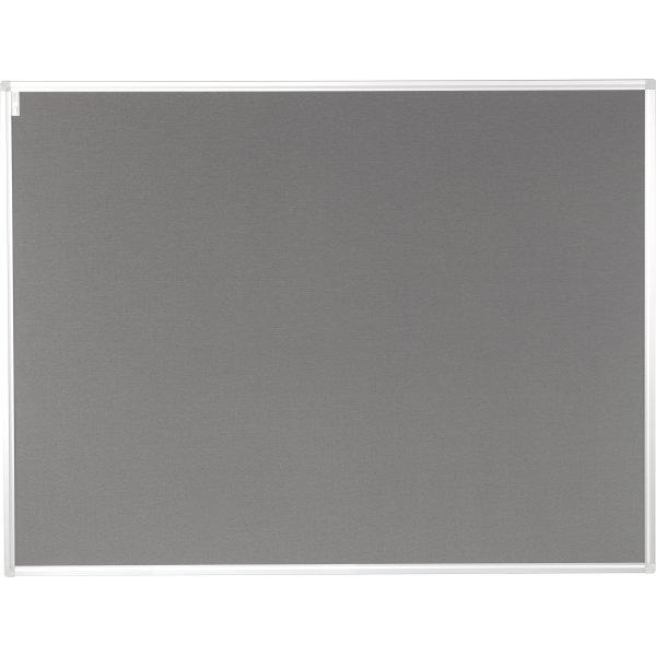 Vanerum opslagstavle 92,5x122,5 cm, grå filt