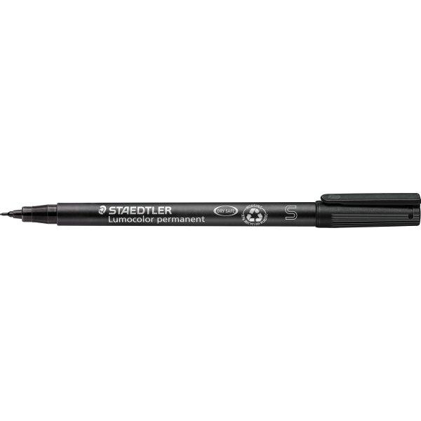 Staedtler Lumocolor universal marker 0,4mm, sort