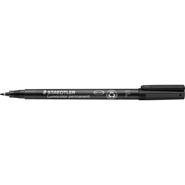 Staedtler Lumocolor universal marker 0,6mm, sort