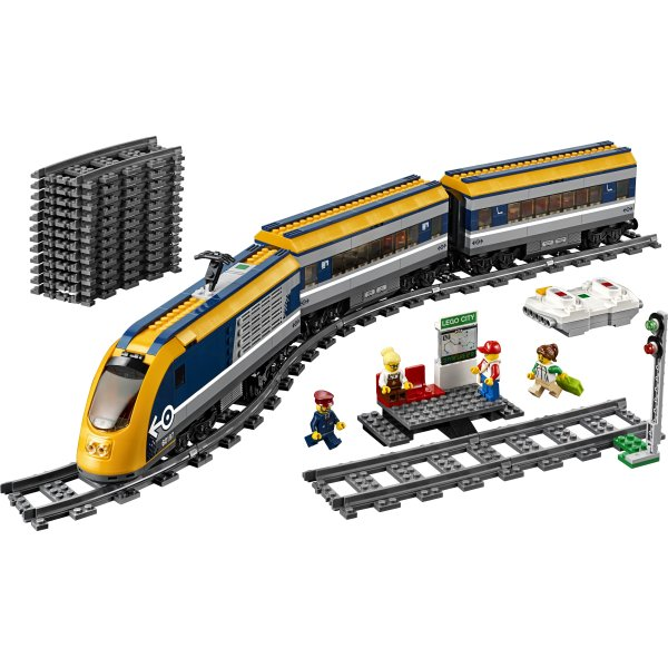 LEGO City 60197 Passagertog, 6-12 år