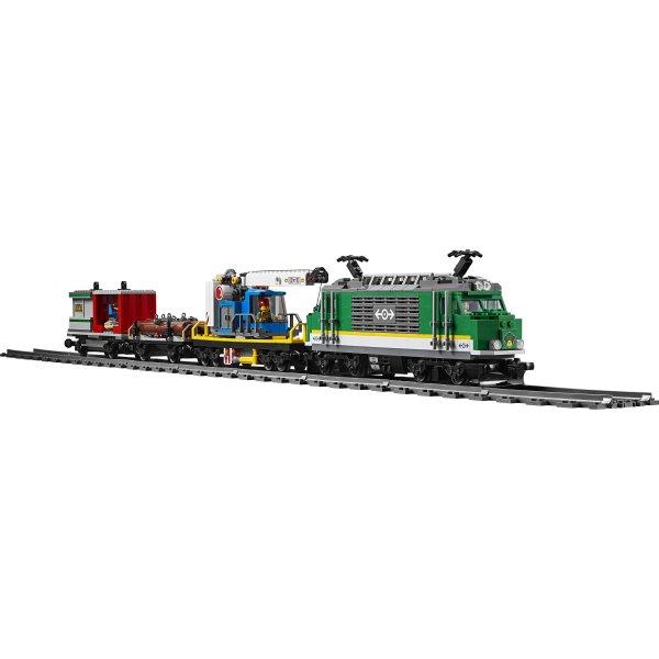 LEGO City 60198 Godstog, 6-12 år