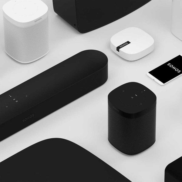 Sonos Beam soundbar/trådløs højttaler, sort