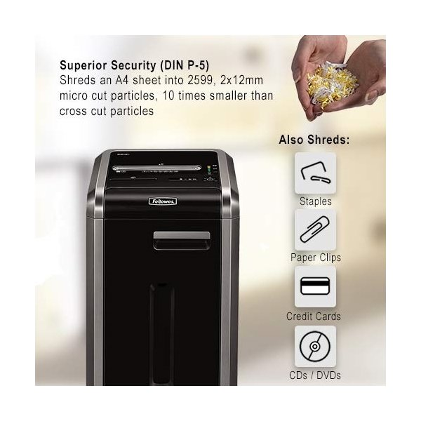 Fellowes Powershred® 225Mi konfettimakulator