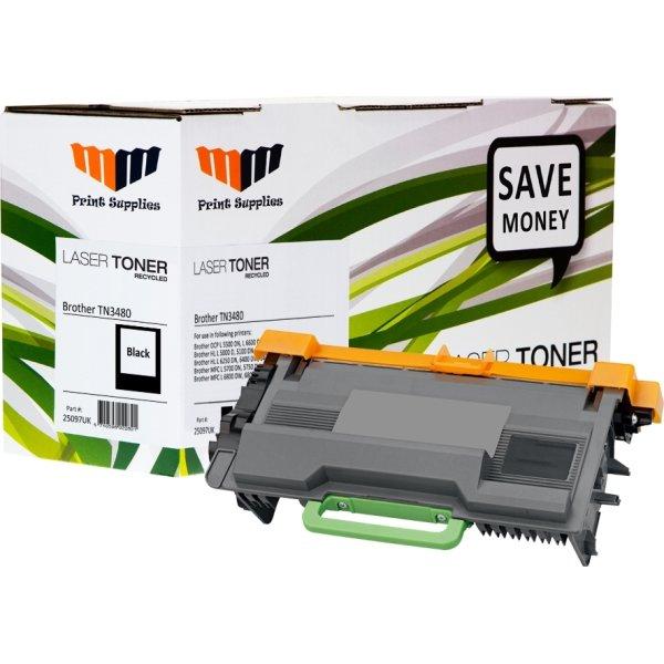 MM TN3480 lasertoner, sort, 8000s