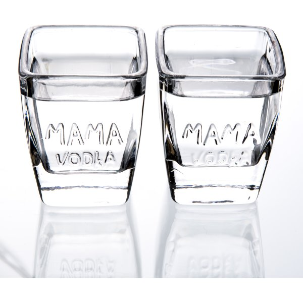 MAMA VODKA Signatur Shot Glas, 12 stk., 5 cl