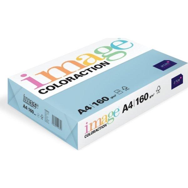Image Coloraction A4, 160g, 250ark, oceanblå