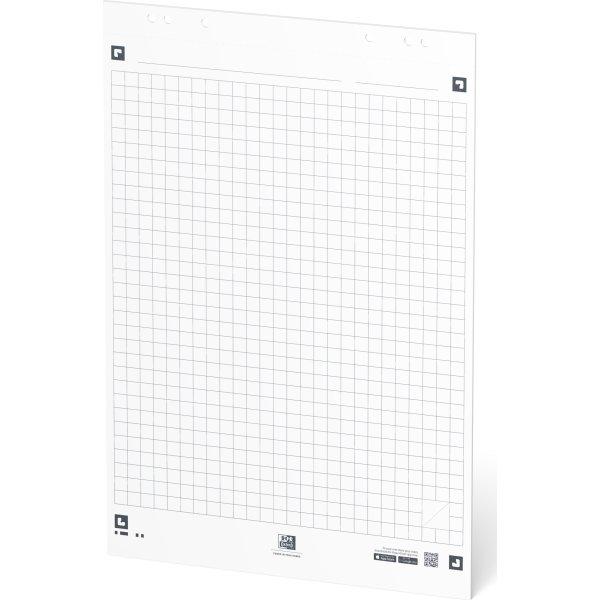 Oxford Smart Chart Flipoverblok 650x980 mm, kvadr.