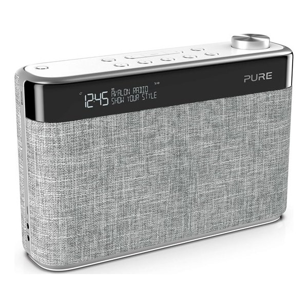 Pure Radio Avalon N5 Bluetooth m. FM/DAB/DAB+, Grå