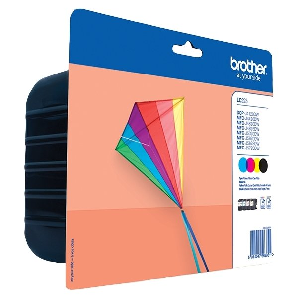 Brother LC223 Value Pack - Printerpatron