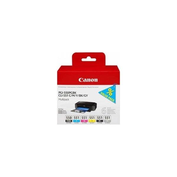 Canon PGI-550/CLI-551 blækpatroner, sampak