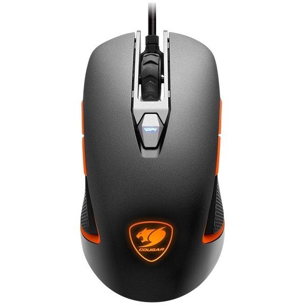 Cougar gaming 450M optisk mus, jerngrå