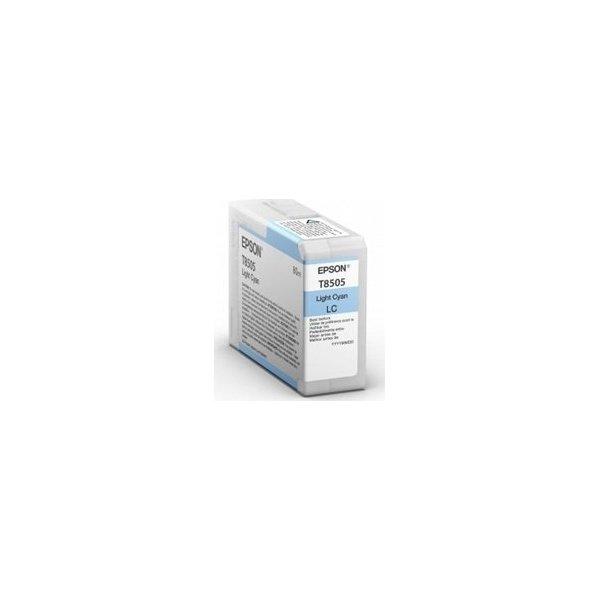 Epson T8505 blækpatron, lyseblå