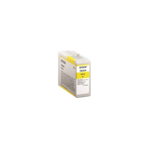 Epson T8504 blækpatron, gul