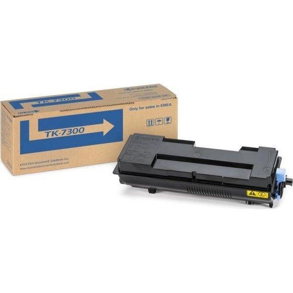 Kyocera TK-7300 lasertoner, sort, 15000s