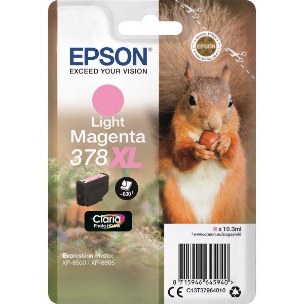 Epson T378 XL blækpatron, lys magenta