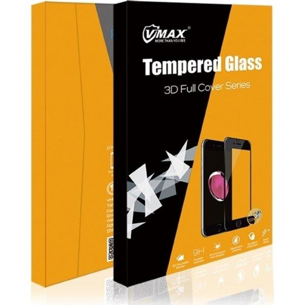 """VMax 3D skærmbeskyttelse til iPhone 6,5"""" (sort)"""