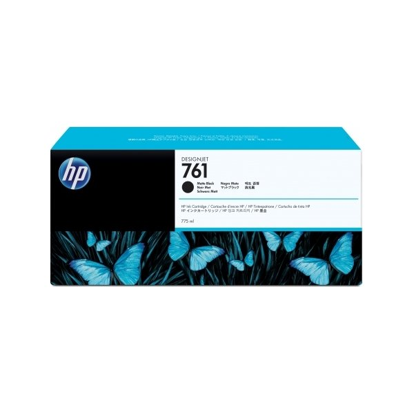 HP CM997A No761 blækpatron, mat sort, 775 ml