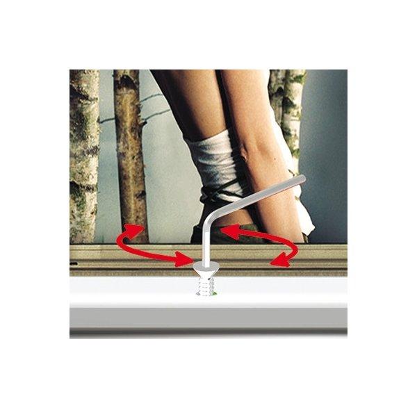 Alu Plakatramme m/ Lås, Snap-frame, 70x100, Sølv