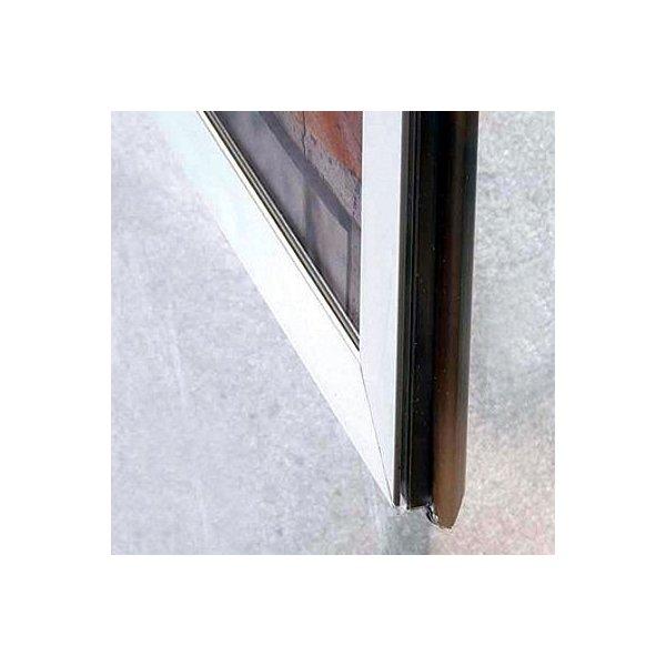 Alu plakatramme t/ Vindue, Snap-frame, 50x70, Sølv