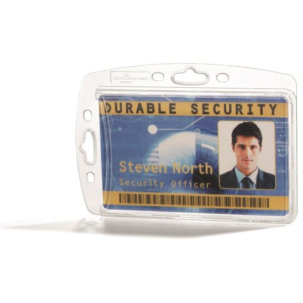Durable holder til adgangskort (10 stk.)