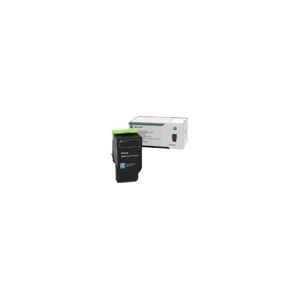 Lexmark 78C0X20 lasertoner, cyan