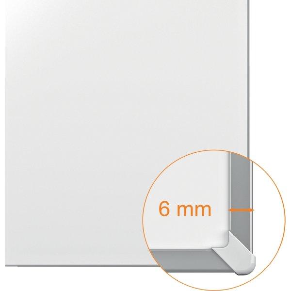 Nobo widescreen whiteboard i hvid - 1,5 x 51 cm