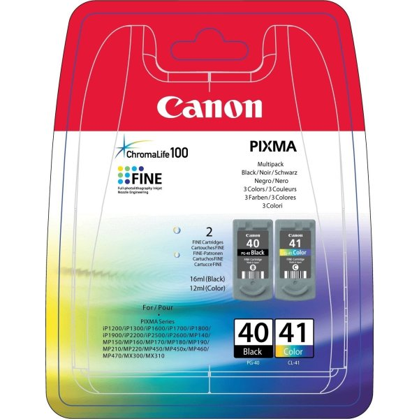 PG-40 black/CL-41 color multi-pack
