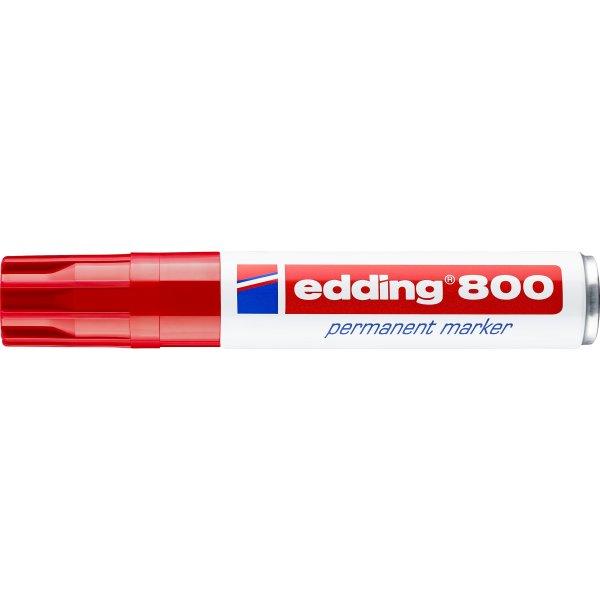 Edding marker 800, rød