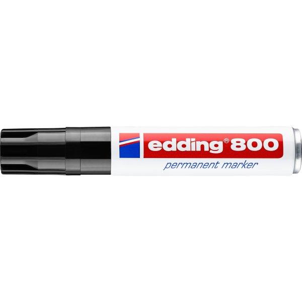 Edding marker 800, sort