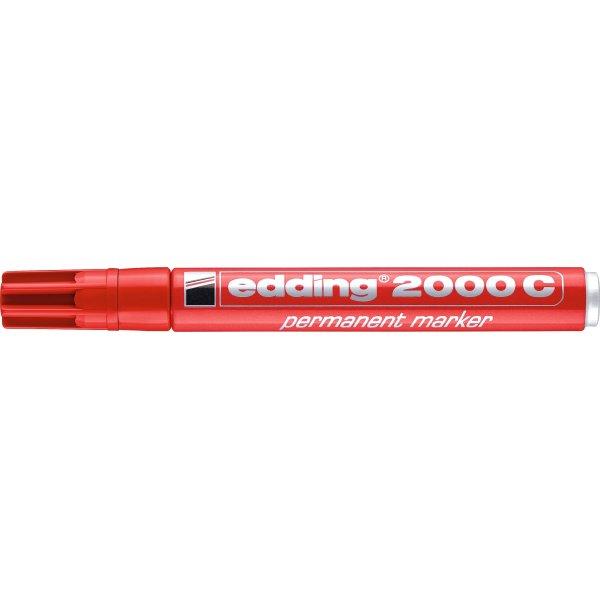Edding 2000C Permanent marker, rød