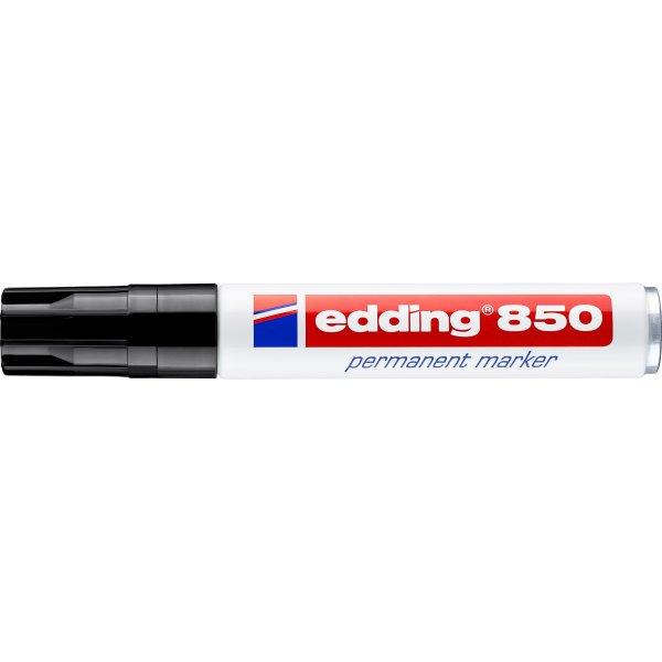 Edding 850 Permanent Marker, sort