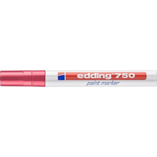 Edding 750 paint marker, rød