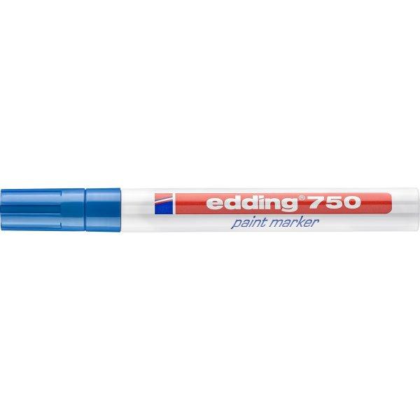 Edding 750 paint marker, blå