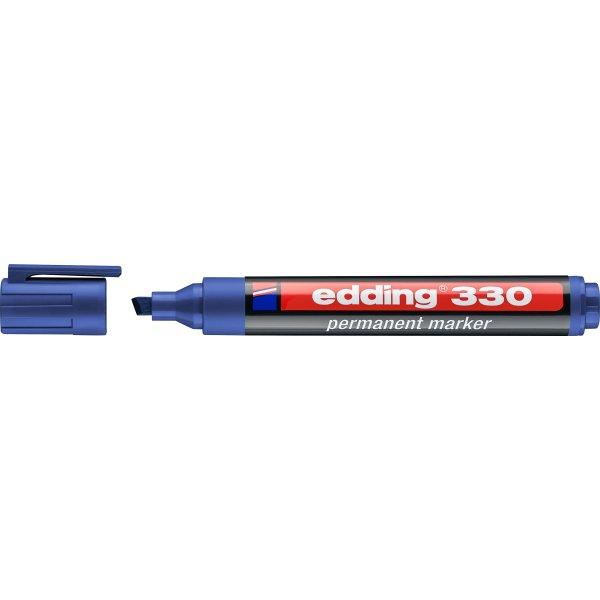 Edding 330 Permanent Marker, blå