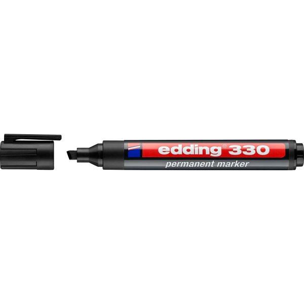 Edding 330 Permanent Marker, sort