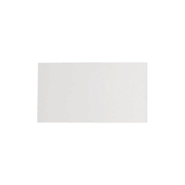 """Skiltplade t/ """"Estate Standard"""", 60x30cm, Hvid"""