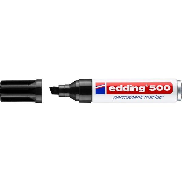 Edding 500 Permanent Marker, sort